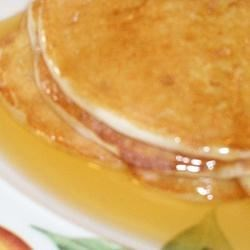 Ricotta Breakfast Pancakes Recipe - Combine ricotta cheese, milk, and pancake mix for fluffy pancakes that are a nice change from traditional pancakes and a great way to use ricotta cheese.