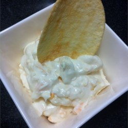 Mozzarella Dip Recipe - This rich dipping sauce is made with mozzarella and Parmesan cheeses, and is perfect with raw vegetables or tortilla chips.