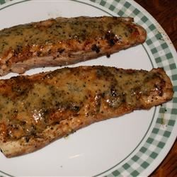 Grilled White Seabass