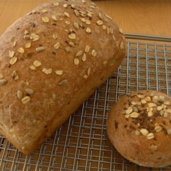 Whole Wheat loaf and bun