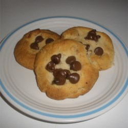 Bird's Nest Tea Cakes Recipe - These cute bird's nest cookies are made with a pecan cookie dough pressed into a nest shape. The nests are then filled with chocolate chips and baked. Your kid cooks will be happy to help, and happy to eat.