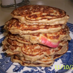 Apple Cinnomon Pancakes