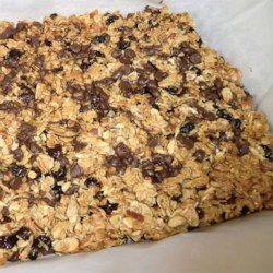 Aaron's Gluten-Free Chocolate Cherry Granola Bars