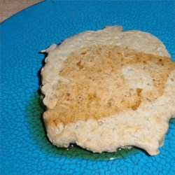 Garbanzo-Oat Pancakes Recipe - Garbanzo flour, oats, and cornmeal make these delicious wheat-free pancakes a hearty breakfast staple.