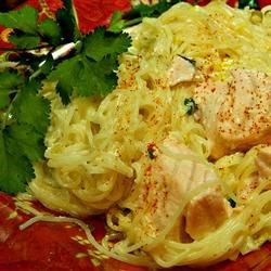 Creamy Salmon and Leek Pasta