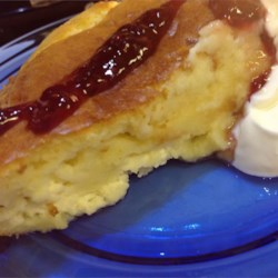 Blenty of Blintzes Recipe - Not exactly a blintz, but who cares when it tastes as great and is as fun to make as this layered brunch dish? Blenty of blintzes, indeed!