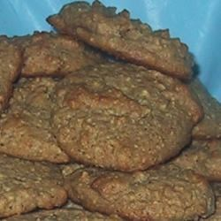 Honey Wheat Cookies Recipe - These cookies are wonderful, and good for you too! I prefer to use real butter but margarine can be substituted.  Wheat germ can also be substituted for the wheat bran. My two year old loves these and I feel less guilty letting him eat them.