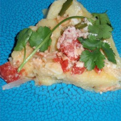 Vegetarian Polenta Pie