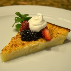 Egg Custard Pie I