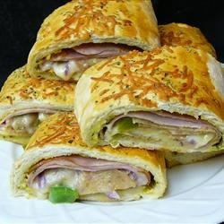 Meat and Veggie Stromboli ~ Recipe Group Selection:  02, March 2013