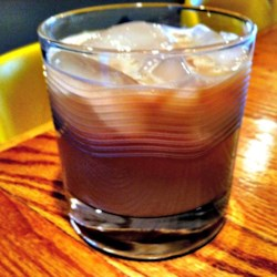 Indiana Bulldog Recipe - An alcoholic drink that tastes just like a chocolate milkshake, but packs a powerful wallop!