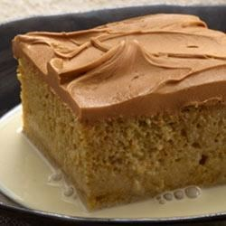 Dulce de Leche Cake from Duncan Hines(R) Recipe - You're sure to fall in 'amor' with this moist Dulce de Leche cake covered with creamy caramel frosting.