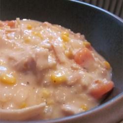 Aunt Gay's Turkey Corn Chowder