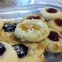 Shortbread Cookies w/ tropical jelly