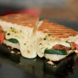 Tuscan Grill Panini Recipe - Mix up weeknight dinner with this delicious alternative your family will love.