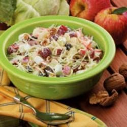 Cabbage Waldorf Salad