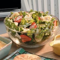 Creamy Banana Lettuce Salad