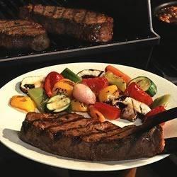 Mesquite & Garlic Grilled Steak