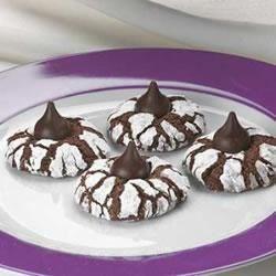 Rich Dark Kisses Tiger Cookies