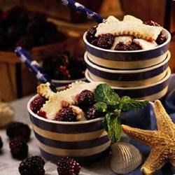 Southern Living magazine's Blackberry Cobbler