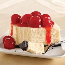 PHILADELPHIA New York Cheesecake II Recipe - Personalize this classic cheesecake by choosing a topping that suits your taste and style. Choose a cherry pie filling or make your own fresh fruit compote!