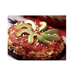 Stacked Enchilada Pie