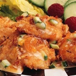 Marzetti® Coconut Breaded Chicken with Crunchy Fruit Sauce