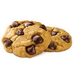 Ghirardelli Milk Chocolate Chip Cookies