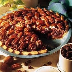 Chocolate Chip Pecan Pie by CRISCO(R) Recipe - This pie combines chocolate and nuts with classic results.