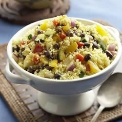 Indian Curry Couscous Salad