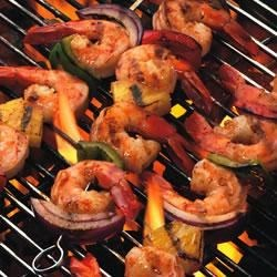 Chipotle Shrimp & Pineapple Kabobs