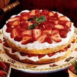 Sensational Strawberry Shortcake