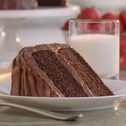Daisy Brand Sour Cream Chocolate Cake Recipe - This chocolate layer cake with chocolate frosting is extra rich and moist from a generous addition of sour cream!