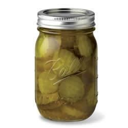 Classic Crisp Bread and Butter Pickles Recipe - Classic 'bread and butter' pickles are perfect with lunches, picnics and barbecues.