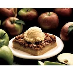 Dutch Apple Dessert Recipe - Serve this crunchy baked apple dessert with ice cream. It's the BEST!