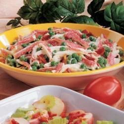 Crab and Pea Salad