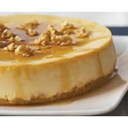 PHILLY Sugar Shack Maple Walnut Cheesecake Recipe - The warm and comforting flavors of maple and walnuts pair deliciously in this rich and creamy cheesecake.