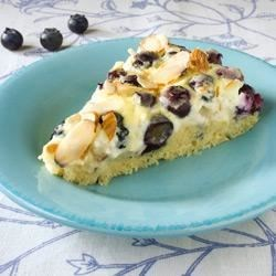 Blueberry-Almond Cake