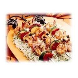 Mexicana Shrimp and Vegetable Kabobs