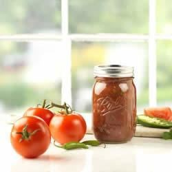 Fresh Garden Salsa Recipe - Turn your sweet, summer bounty of tomatoes into this classic salsa.