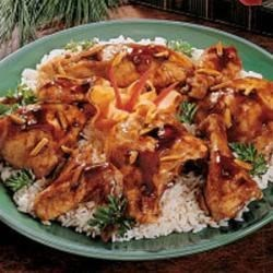 Slow-Cooked Oriental Chicken