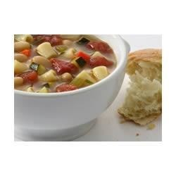 Home-Style Minestrone Recipe - Minestrone soup is one of life's great pleasures. Serve with thick slices of toasted Italian country bread and enjoy a timeless classic of Italian cooking.