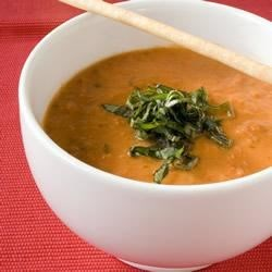 Summer Tomato-Basil Soup