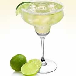 The Simple Sauza(R) Margarita Recipe - The classic margarita, made with flowery silver tequila, triple sec, and margarita mix, is colorfully garnished with lime and orange wedges.