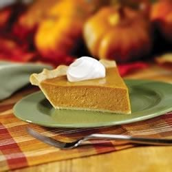 Perfect Pumpkin Pie Recipe - The one and only!  EAGLE BRAND(R) makes this traditional dessert the perfect ending to a Thanksgiving feast.