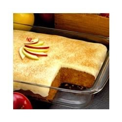 Apple Spice Custard Cake