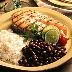 Grilled Tequila Lime Salmon