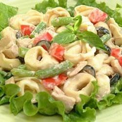 Tuna Tortellini Pasta Salad