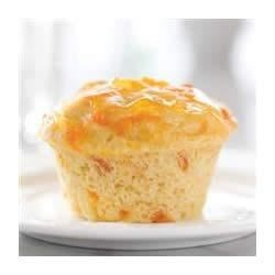 Apricot Breakfast Muffins Recipe - Even with low-calorie and low-fat ingredients, these apricot muffins are bursting with fresh flavors for breakfast or brunch.
