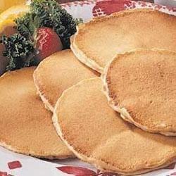 Taste of Home's Peanut Butter Pancakes